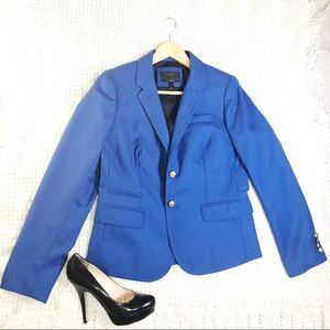 J.Chew schoolboy Womens blazer 100% wool  8 Blue